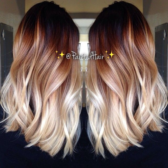 Layered-Wavy-Haircut-for-Ombre-Hair Great Layered Hairstyles for Straight Hair 2019