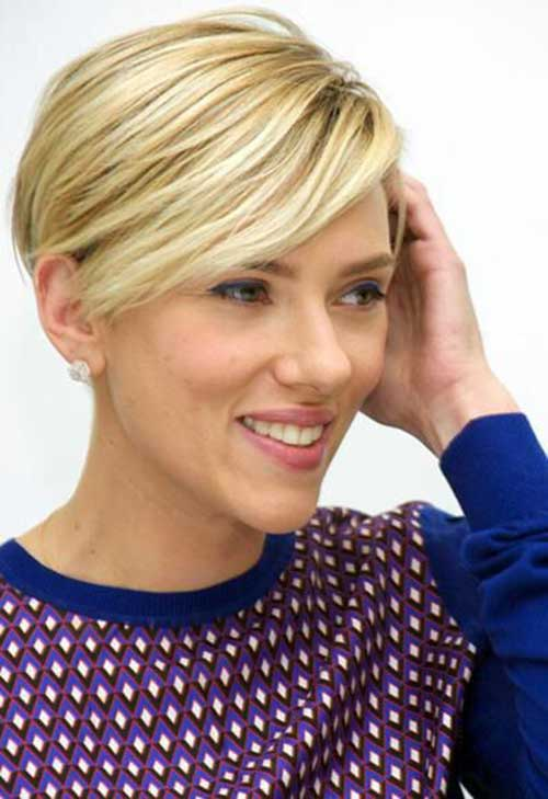 Long-Blonde-Straight-Pixie-Hair-2015 New Hairstyles for Short Hair