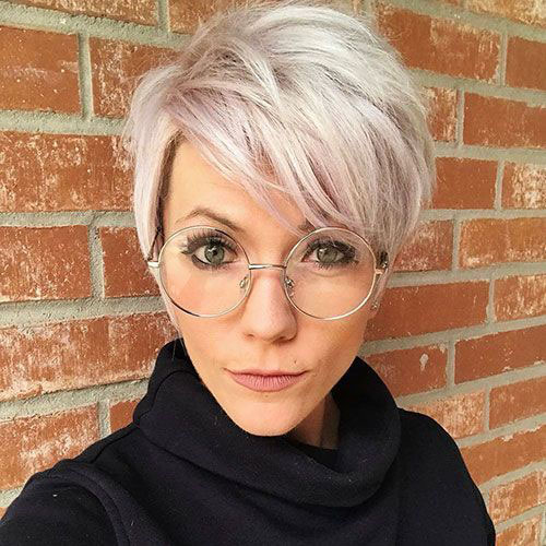 Long-Layered-Pixie-Cut Best Sassy Pixie Cuts 2019