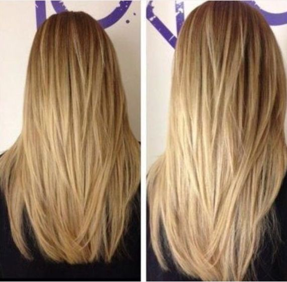 Long-Straight-Hairstyle-with-Choppy-Layers Great Layered Hairstyles for Straight Hair 2019