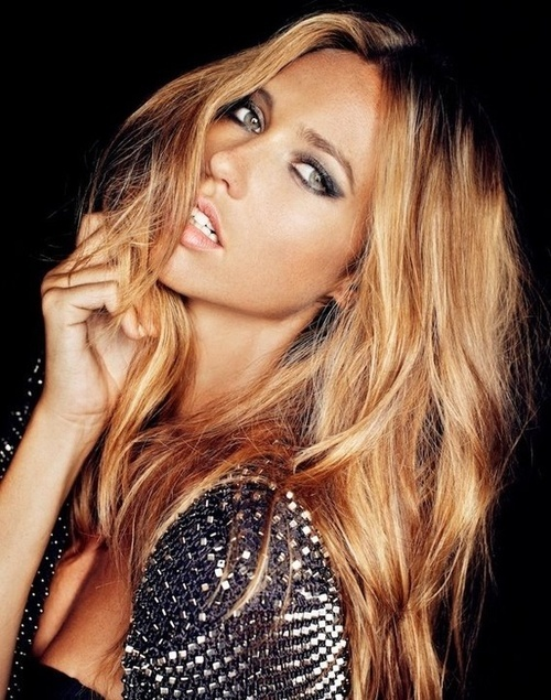 Long-Wavy-Caramel-Blond-Hair Most Charming Blonde Hairstyles for 2019