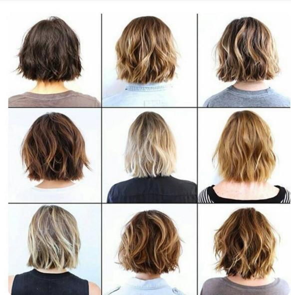 Medium-Layered-Haircuts Chic Short Hairstyles for Women 2019