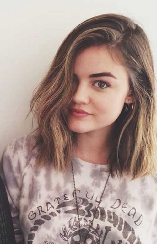 New-Blunt-Bob-Hairstyle-for-Short-Hair New Hairstyles for Short Hair