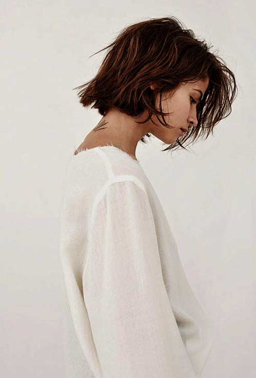 New-Short-Choppy-Bob-Hair-Style-Side-View New Hairstyles for Short Hair