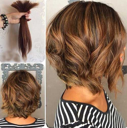 New-Short-Wavy-Bob-Hair-Cut New Hairstyles for Short Hair