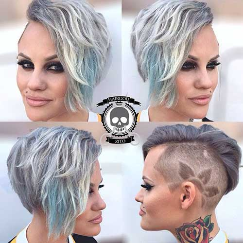 Pixie-Cuts-with-Undercut-Designs Latest Short Hairstyles for An Amazing Look