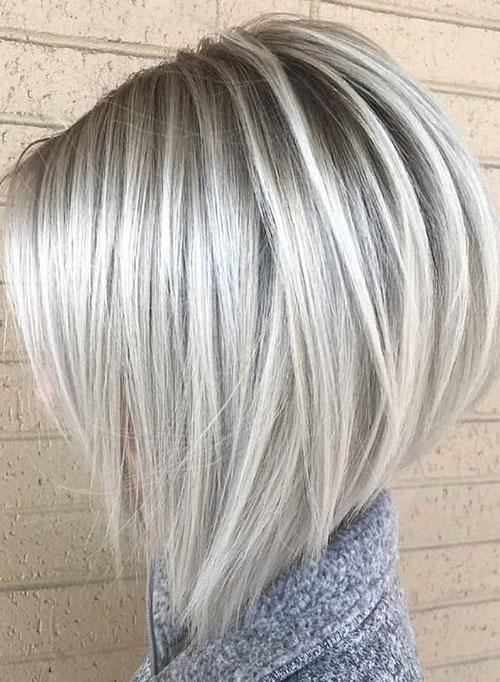 Platinum-Blonde-Highlights-Bob Best Pics of Short Straight Blonde Hair