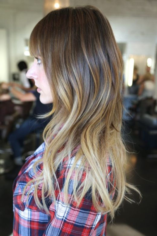 Pretty-Ombre-Hair-Color-Idea-for-Long-Hair Hottest Ombre Hair Color Ideas for 2019 – (Short, Medium, Long Hair)