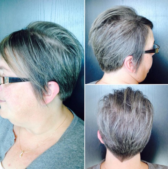 Short-Layered-Hairstyle Beautiful Short Hairstyles for Round Faces 2019