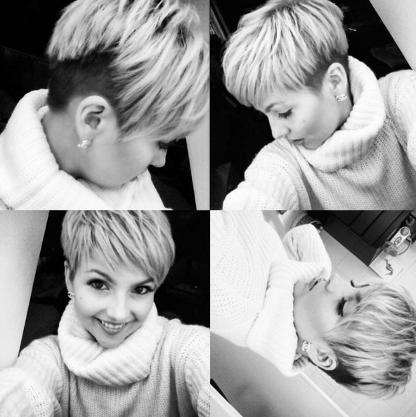 Short-Layered-Pixie-Haircut-for-Women Chic Short Hairstyles for Women 2019