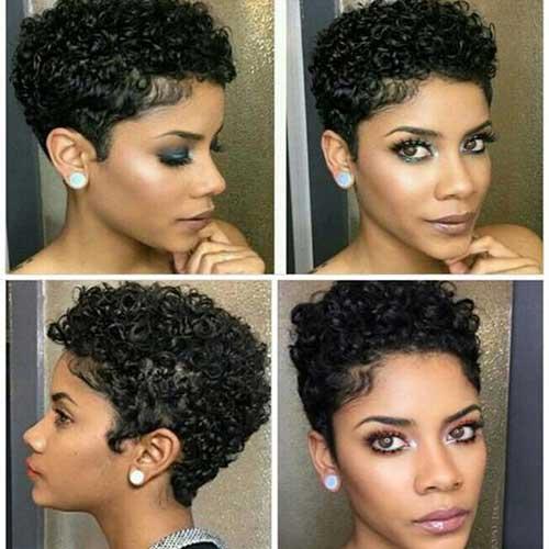 Short-Pixie-Cut-for-Black-Women Latest Short Pixie Cuts for Black Women