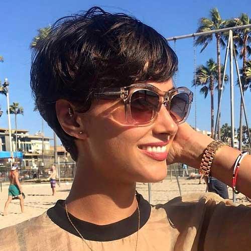 Short-Pixie-Hair Best Short Hairstyle Ideas 2019