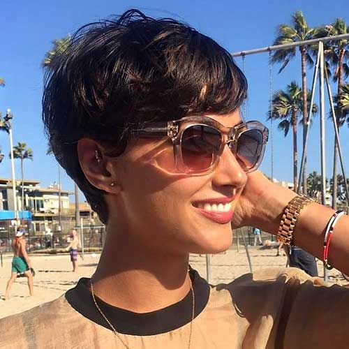 Short-Pixie-Hair Best Short Hairstyle Ideas 2019