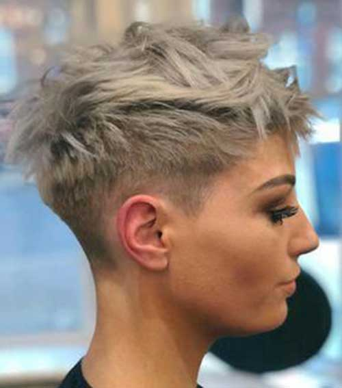 Short-Pixie-Hairstyle-2 Chic Ideas About Short Ash Blonde Hairstyles