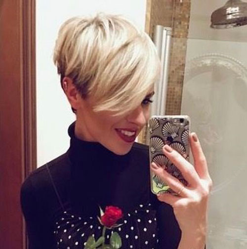 Short-Sassy-Hair Best Pics of Short Straight Blonde Hair