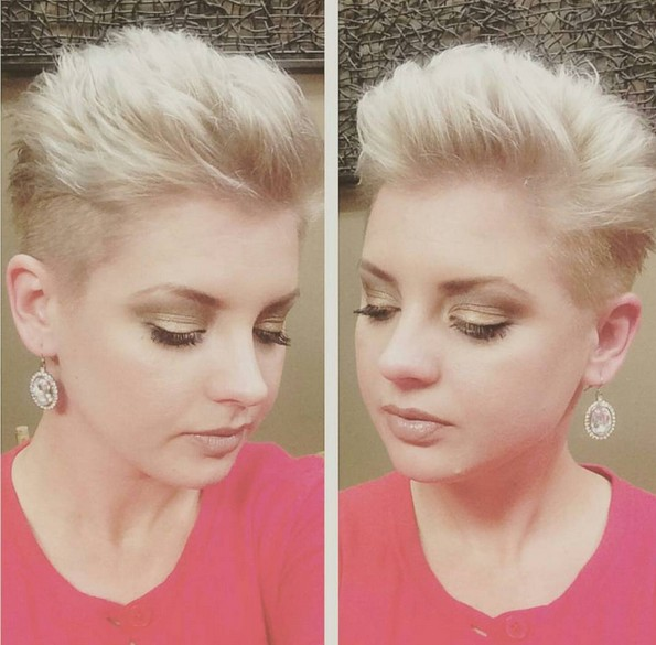 Short-Spikey-Hairstyle Beautiful Short Hairstyles for Round Faces 2019