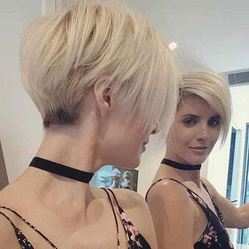 Short-Straight-Blonde-Hair-2019 Best Pics of Short Straight Blonde Hair