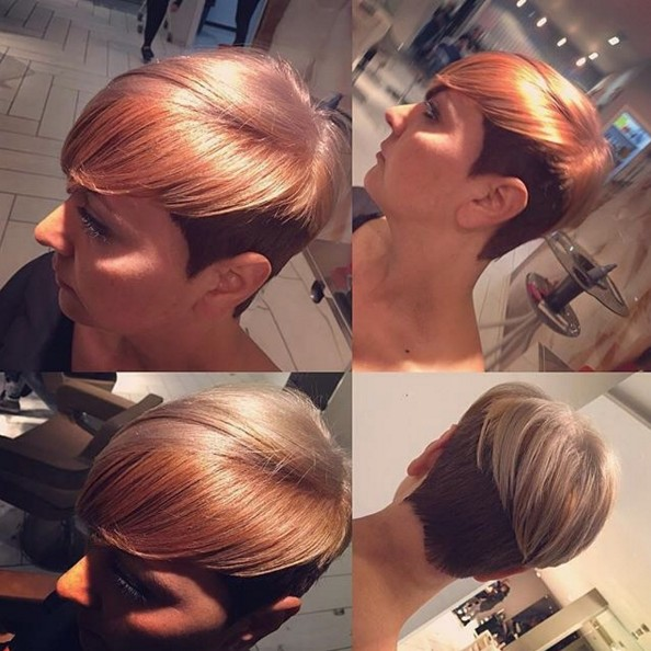 Short-Undercut-Hairstyle Beautiful Short Hairstyles for Round Faces 2019