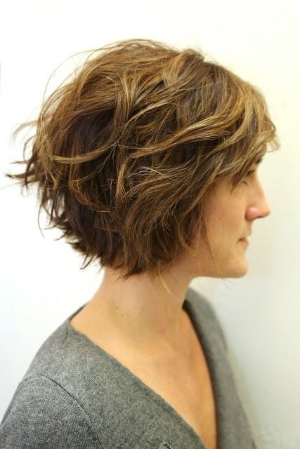 Short-Wavy-Bob-Hairstyle Alluring Wavy Hairstyles for 2019