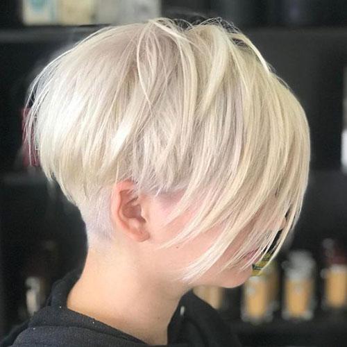 Short-White-Blonde-Bob Best Pics of Short Straight Blonde Hair
