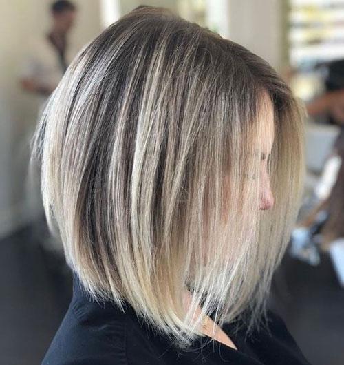 Thin-Hair Best Pics of Short Straight Blonde Hair