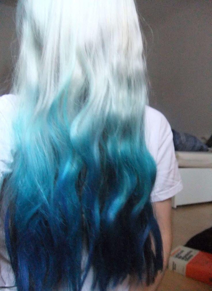 Turquoise-Ombre-Hair-Color-Idea Hottest Ombre Hair Color Ideas for 2019 – (Short, Medium, Long Hair)