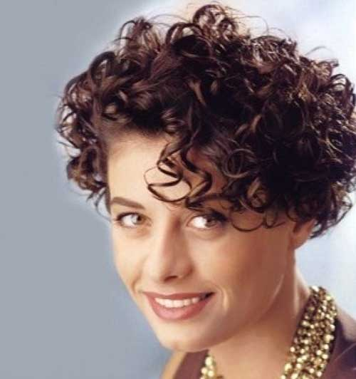 Very-Short-Frizzy-Curly-Stylish-Hair Short Haircuts For Curly Frizzy Hair