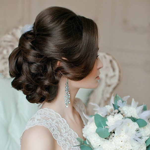 Wedding-Hairstyles-15 Romantic Wedding Hairstyles for 2019