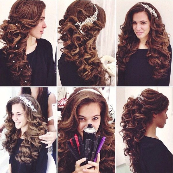 Wedding-Hairstyles-18 Romantic Wedding Hairstyles for 2019