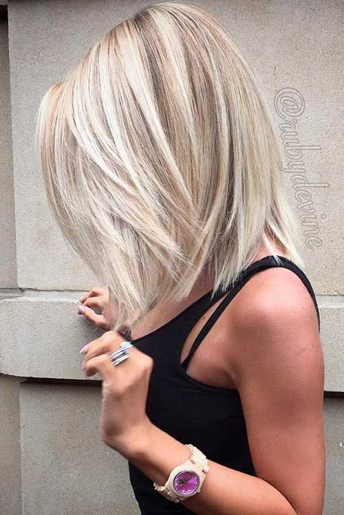 White-Blonde-Hair Trendy Short Hairstyles You Should See