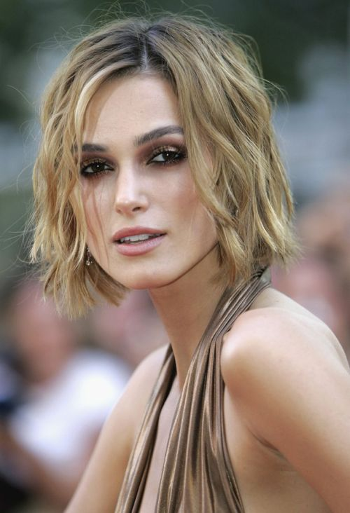 Windblown-waves Hypnotic Short Hairstyles for Women with Square Faces