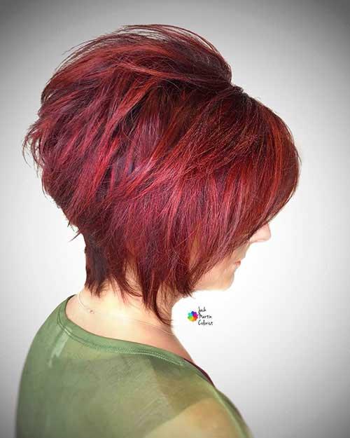 back-view-of-short-layered-haircuts-2 Back View Of Short Layered Haircuts