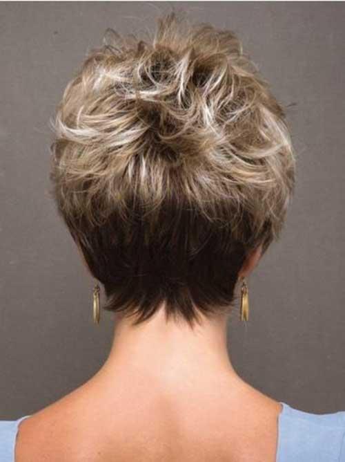 short-hair-back-view Back View Of Short Layered Haircuts