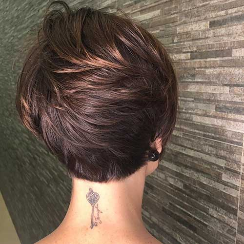 short-pixie-cut-back-view Back View Of Short Layered Haircuts