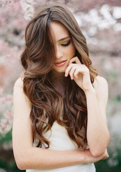 Amazing-Long-Curly-Wedding-Hairstyle Perfect Curly Wedding Hairstyles