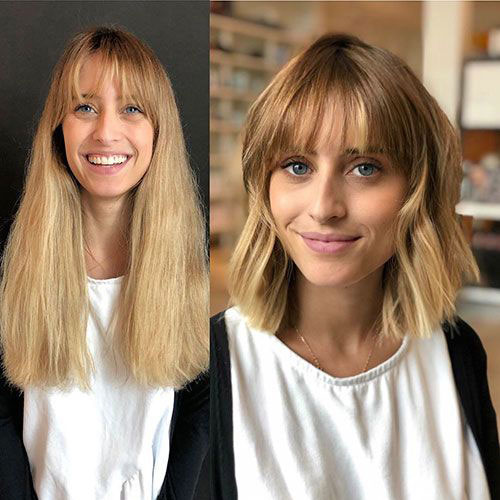 Before-and-After-Bob-Style-Haircut Latest Bob Style Haircuts
