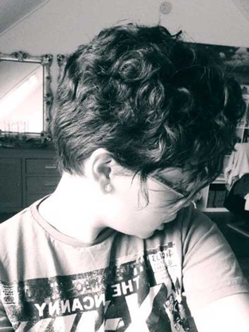 Best-Curly-Pixie-Cut-Idea-for-Girls Short Curly Pixie Haircuts