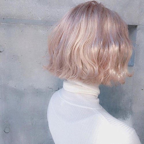 Blonde-Bob-Style-for-Girls Latest Bob Style Haircuts