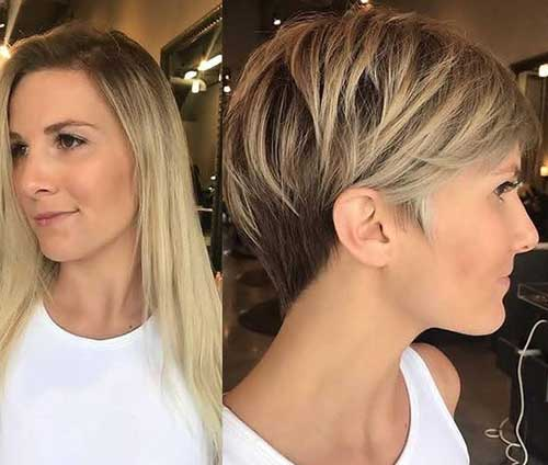 Blonde-Long-Pixie-with-Soft-Layers Pixie Hairstyles for the Best View