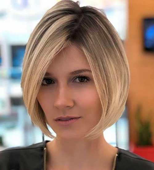 Bob-Cut Short Thin Hairstyles to Easily be Feminine