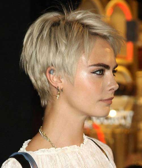 Cara-Delevingne-Pixie-Hair Pixie Hairstyles for the Best View