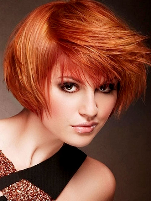 Copper-red-hair-color-2019 Best Short Hair Color Trends 2019