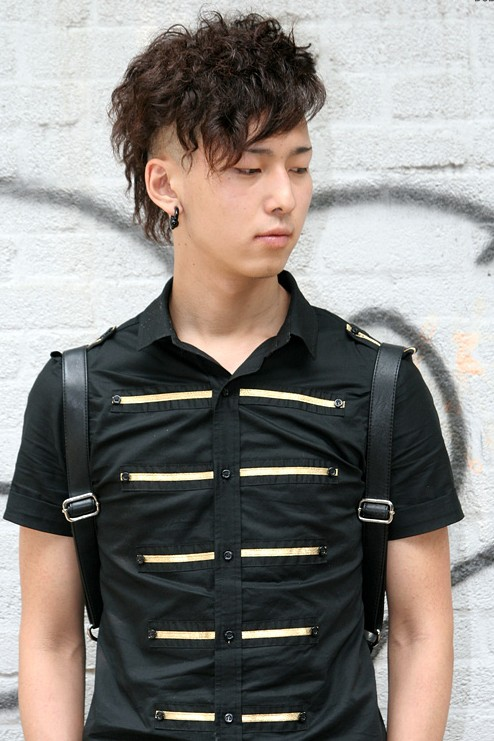 Curly-Korean-Haircut-for-Guys Cool Korean and Japanese Hairstyles for Asian Guys