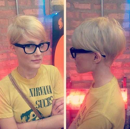 Cute-Blonde-Pixie-Cut-for-Girls Best Cute Girl Short Haircuts To Help You Out