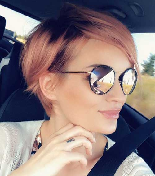 Cute-Pixie-Style Short Thin Hairstyles to Easily be Feminine