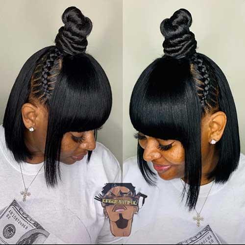 Cute-Short-Black-Hairstyles Cute Short Black Haircut Ideas