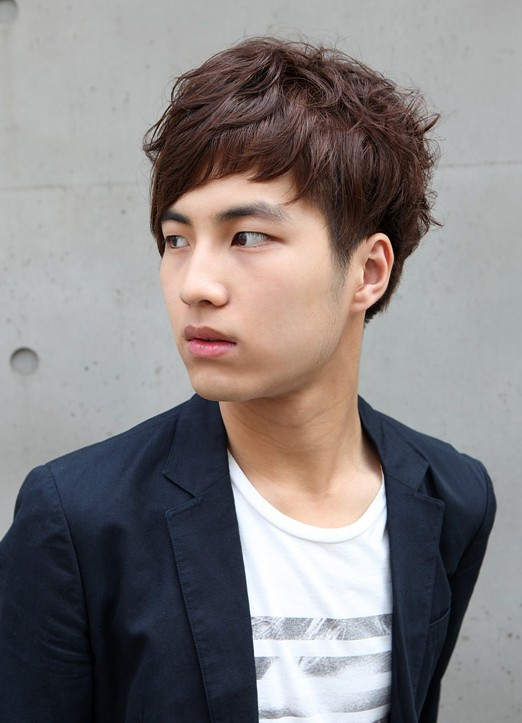 Korean-guys-hairstyles Cool Korean and Japanese Hairstyles for Asian Guys