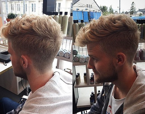 Long-Curly-Locks-for-Men Hottest Faux Hawk Hairstyles for Men