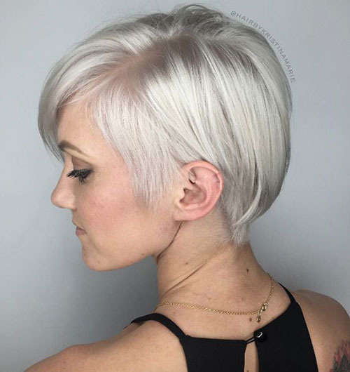 Long-Pixie-Cut-for-Fine-Blonde-Hair Modern Hairstyles for Short Hair