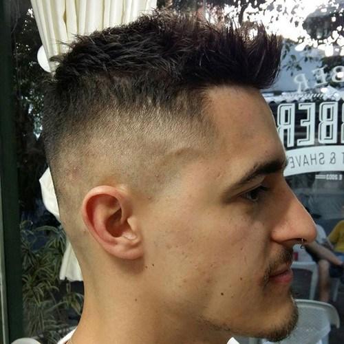Men's-Fancy-Faux-Hawk Hottest Faux Hawk Hairstyles for Men